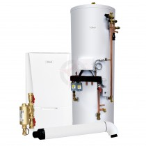Ideal Vogue Max 15 System Boiler, Filter, Horizontal Flue & System Ready Cylinder