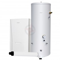 Ideal Vogue S26 GEN2 System Boiler, Horizontal Flue & Indirect Cylinder