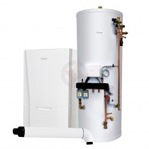 Ideal Vogue S18 GEN2 System Boiler, Horizontal Flue & System Ready Cylinder