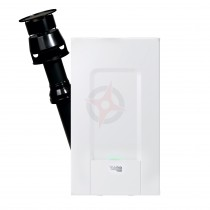 Vokera Evolve 42C (ErP) Combi Boiler, Vertical Flue & Built-in Clock