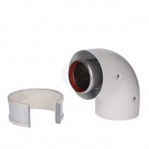 Vokera Standard Efficiency 90 Degree Flue Bend