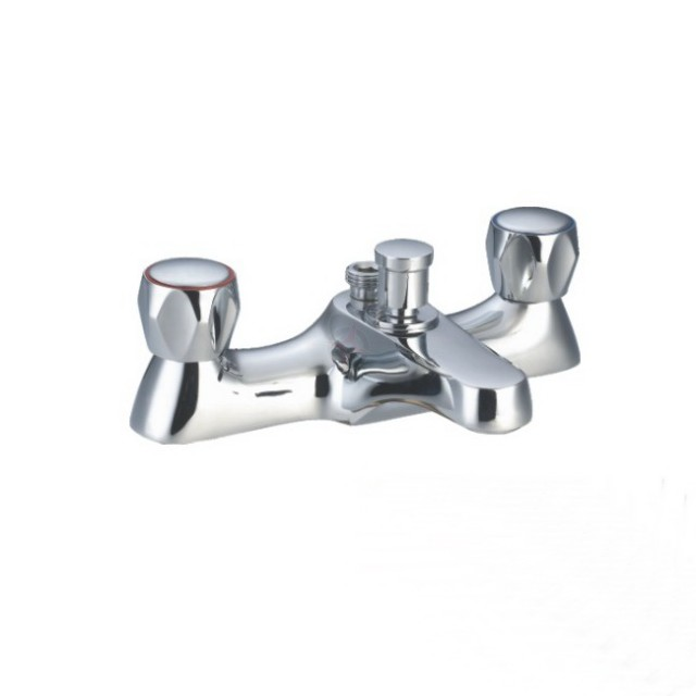 Lavata Contract Bath Shower Mixer c/w Shower Kit