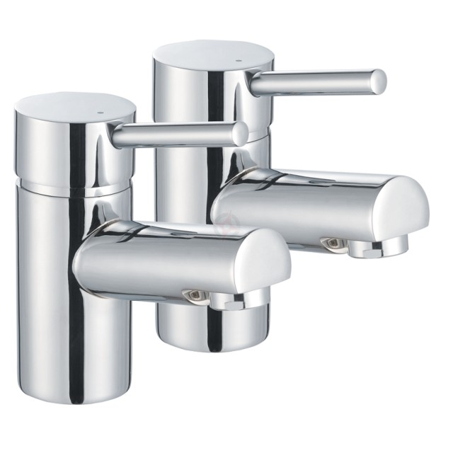 Lavata Contemporary Bath Taps (Pair)