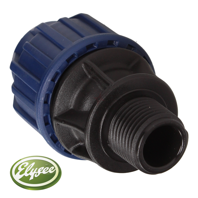 "MDPE Adaptor Male 20 x 1/2"" (SP)"
