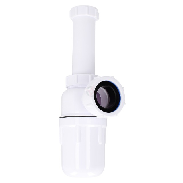 "Kimsion 1.1/4"" Plastic Bottle Trap with 6"" Telescope"