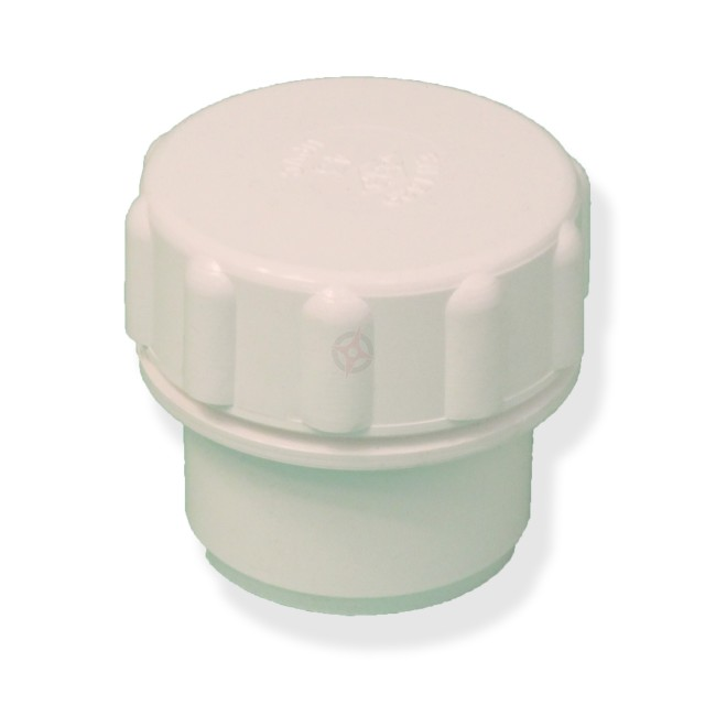 White 36mm Solvent Waste Access Cap