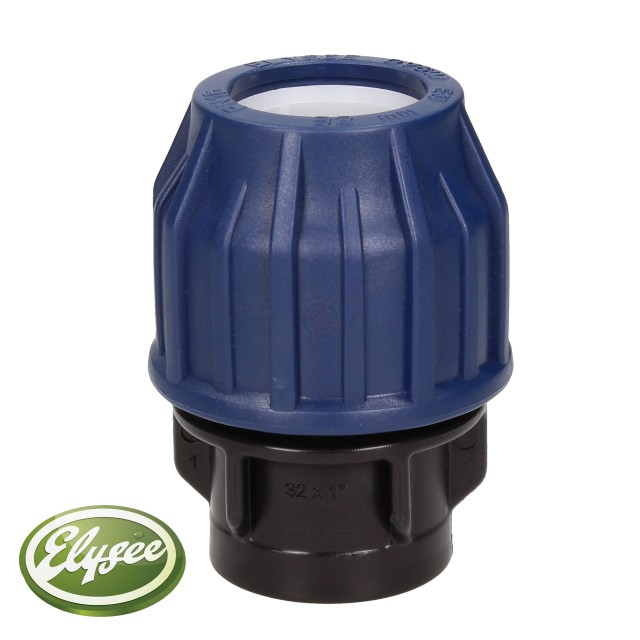 "MDPE Adaptor Female 32 x 1"" (SP)"