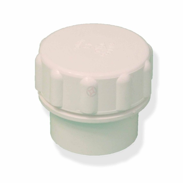 White 43mm Solvent Waste Access Cap