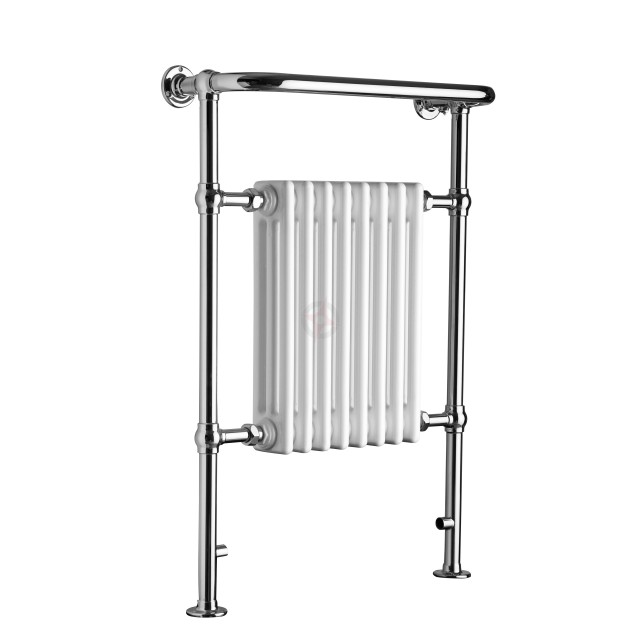 Revive 963H x 673W Traditional Column Towel Rail