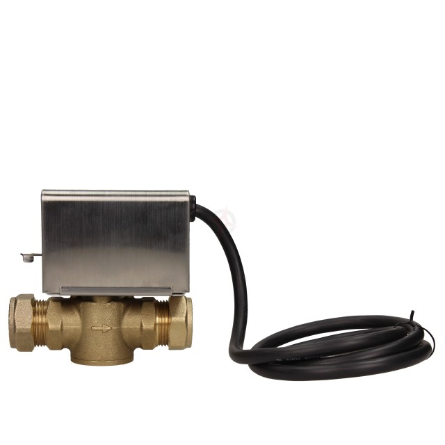 BiWorld 22mm 2 Port Motorised Zone Valve