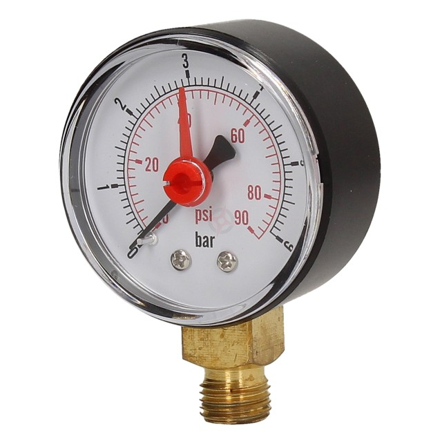 Yorhe Pressure Gauge 0-6 Bar