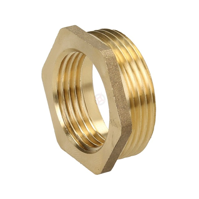 "Brass 1.1/4"" x 1"" Reducing Bush"
