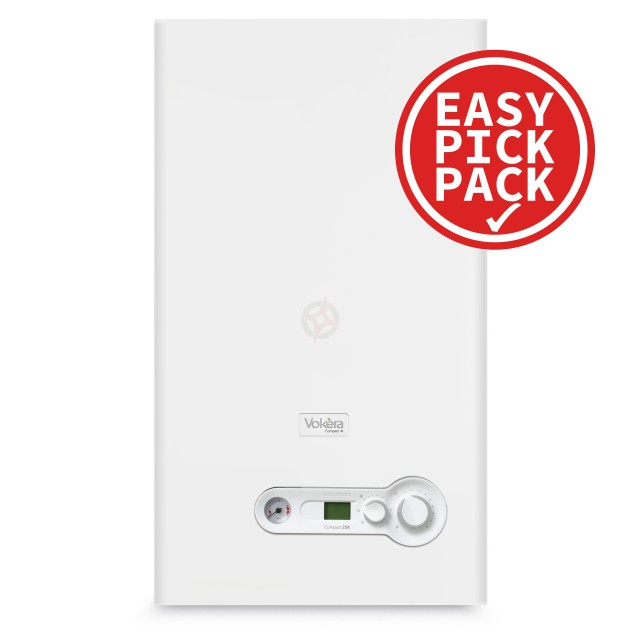 Vokera Compact 25A (ErP) Combi Boiler & Flue Easy Pick Pack