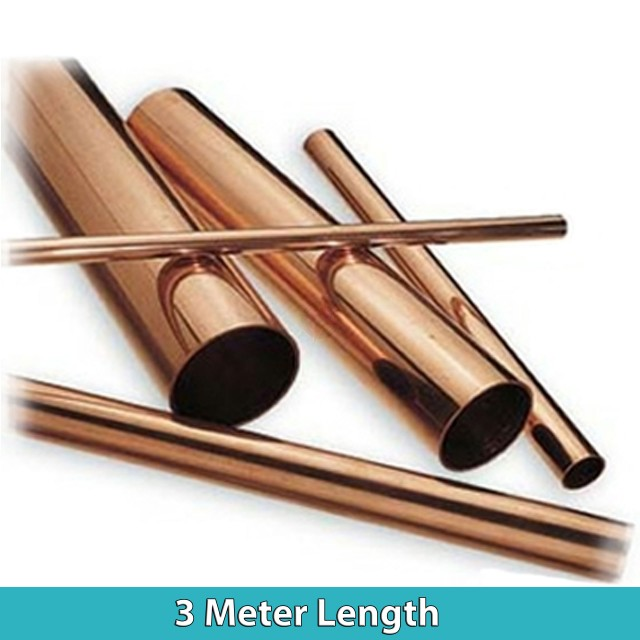 Copper Tube 15mm  (3 Metre Length)