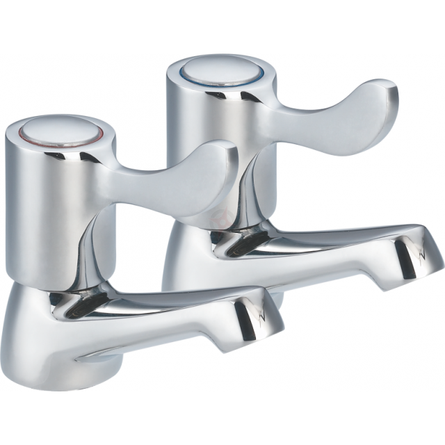 Lavata Modern Bath Taps (Pair)