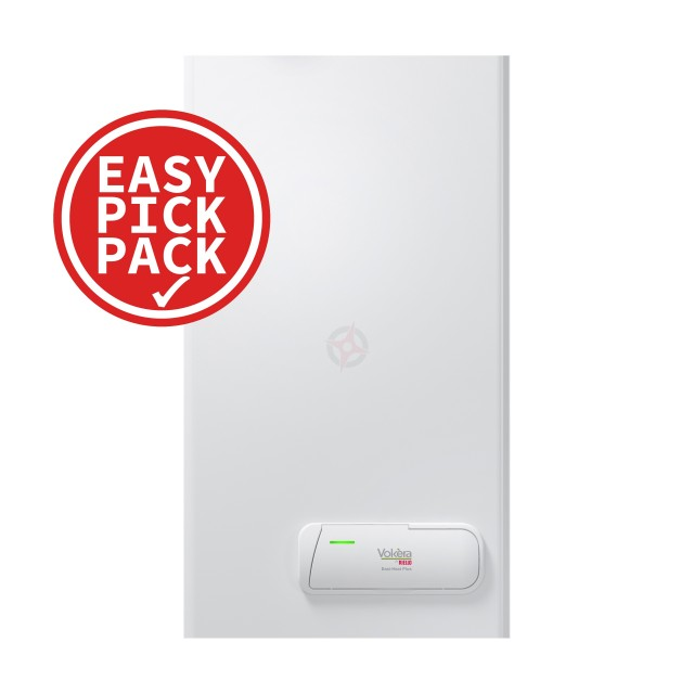 Vokera Easi-Heat Plus 25Ci (ErP) Combi Boiler & Flue Easy Pick Pack