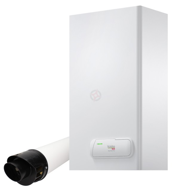 Vokera Easi-Heat Plus 25Ci (ErP) Combi Boiler, Digital Clock and Flue Kit