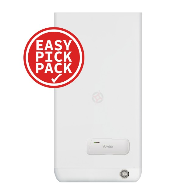 Vokera Easi-Heat Plus 25C (ErP) Combi Boiler & Flue Easy Pick Pack