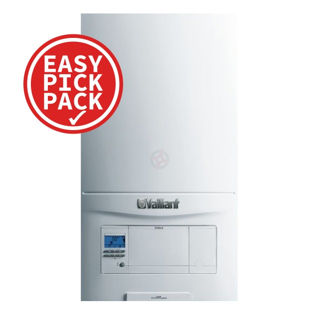 Vaillant ecoFit Pure 612 (ErP) System Boiler Easy Pick Pack