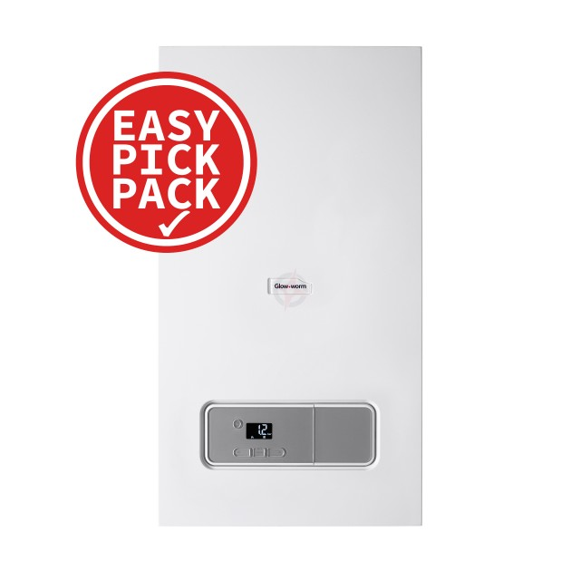 Glow-worm Energy 25C (ErP) Combi Boiler Easy Pick Pack