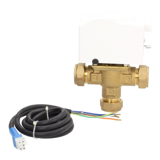 ESi range 22mm 3 Port Motorised Mid-Position Valve