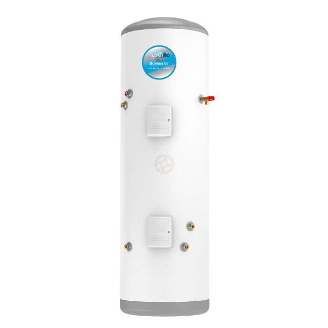 everflo Rapide+ 300L Indirect Unvented Hot Water Storage Cylinder & Kit