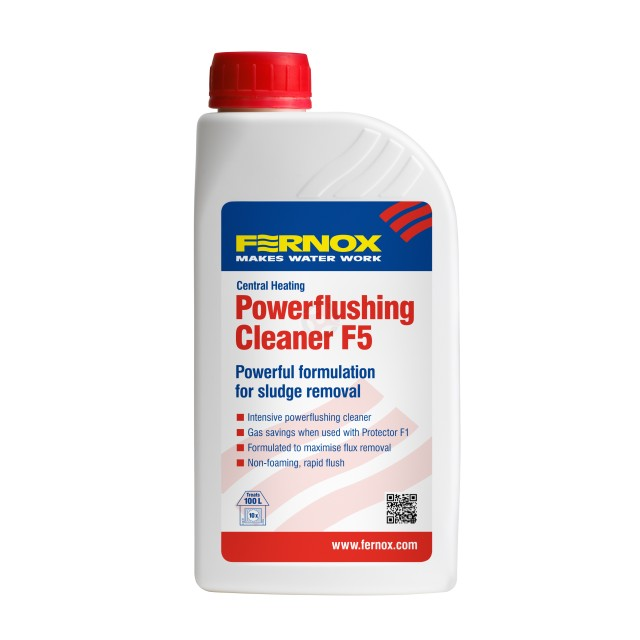 Fernox F5 Central Heating Powerflushing Chemical - 1 Litre