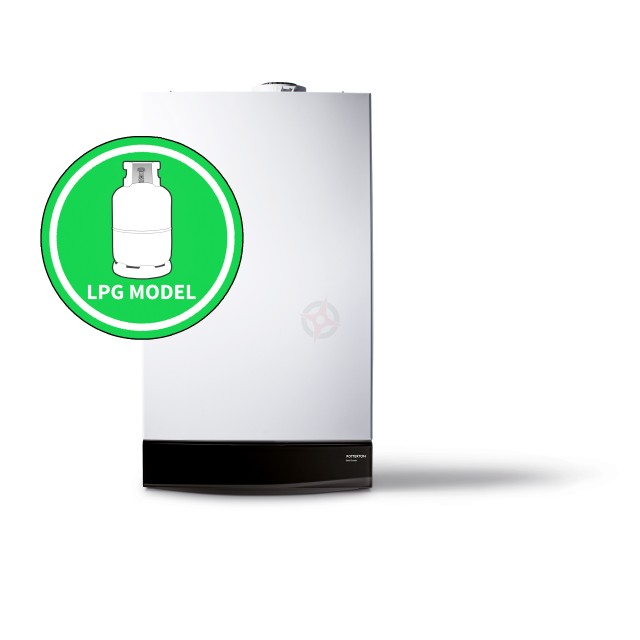 Potterton Gold 28 LPG (ErP) Combi Boiler Only (with Built-in Clock)
