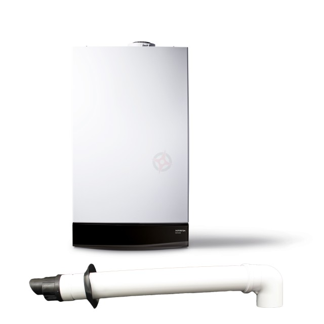Potterton Gold 33 (ErP) Combi Boiler, Std Flue & Built-in Clock