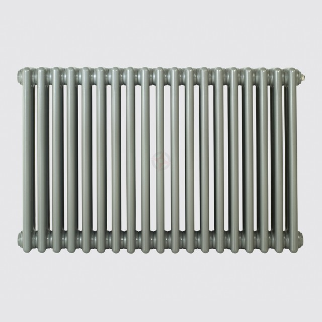 600H x 904W 4 Column Horizontal Grey Aluminium Radiator