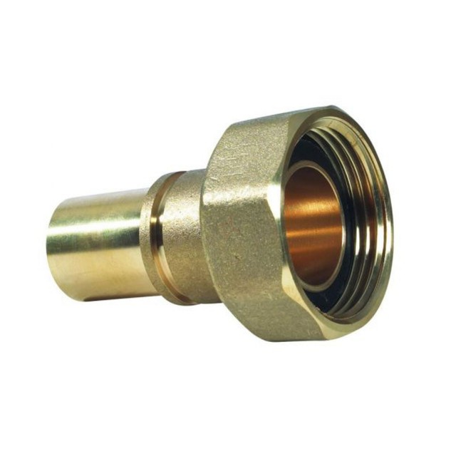 """22mm x 1"""" Grooved Meter Union c/w Washer"""