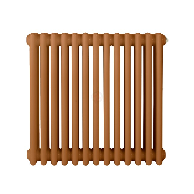 600H x 1180W 3 Column Horizontal Beige Brown Radiator