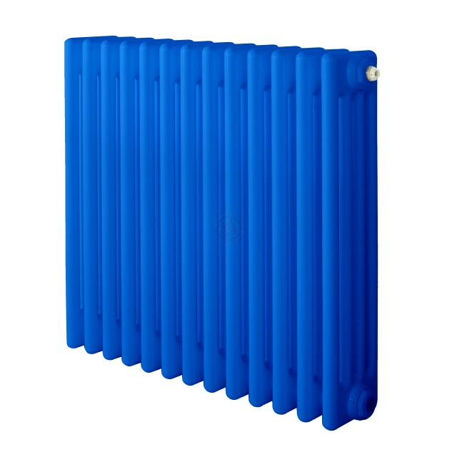 600H x 1180W 4 Column Horizontal Signal Blue Radiator