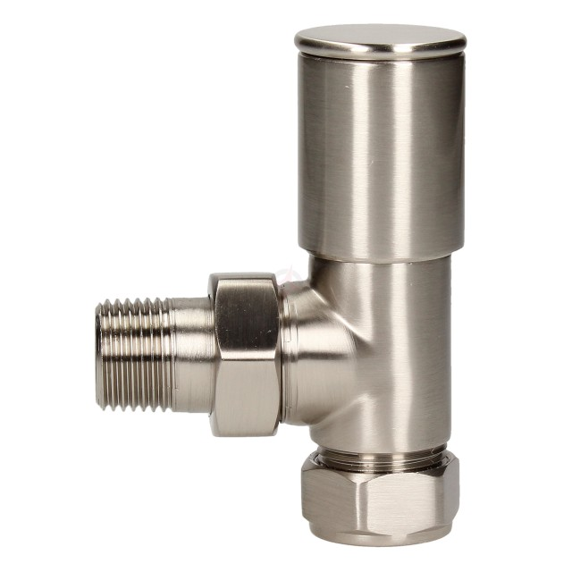 Evolve HP 15mm Silver Nickel Angled Wheel Head Valve