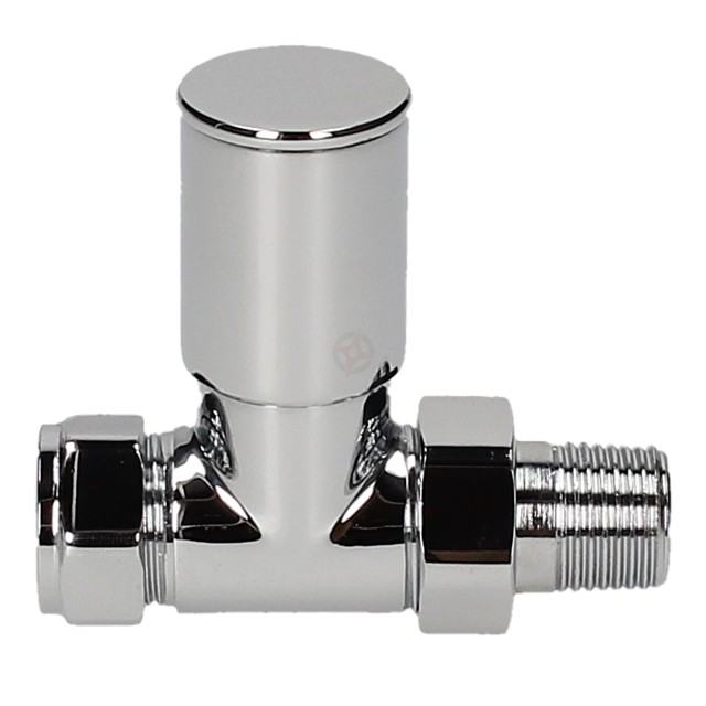 Evolve HP 15mm Chrome Straight Wheel Head Valve