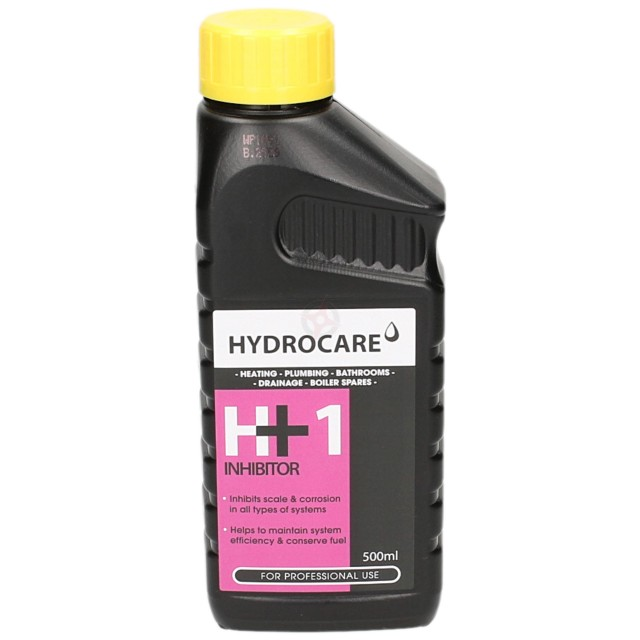 Hydrocare H+1 Central Heating Inhibitor 500ml Concentrated
