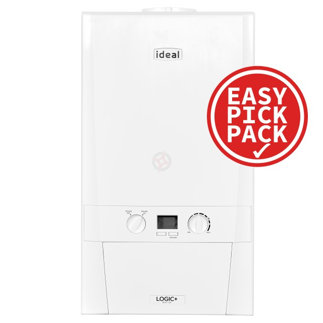 Ideal Logic+ (Plus model) 12 (ErP) Heat Boiler Easy Pick Pack
