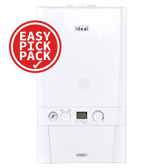 Ideal Logic+ (Plus Model) 24 (ErP) System Boiler Easy Pick Pack