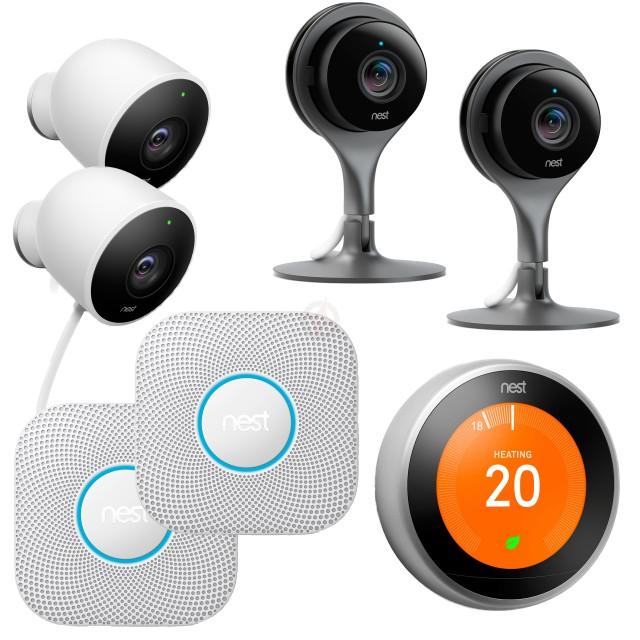 Nest Home Security Pack 2