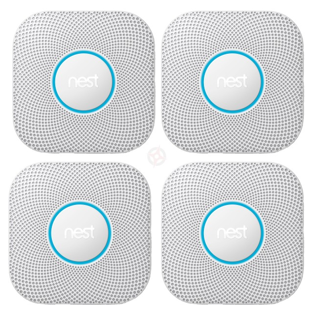 Nest Protect, 2nd Generation, Wired (Pack of 4)