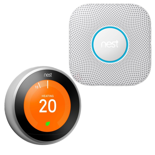 Nest Learning Thermostat and Protect Pack