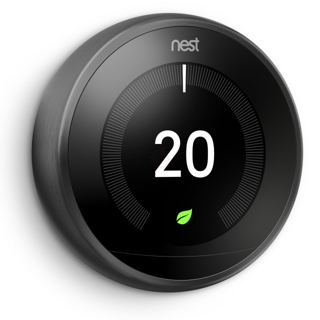 Nest Learning Thermostat, 3rd Generation - Black