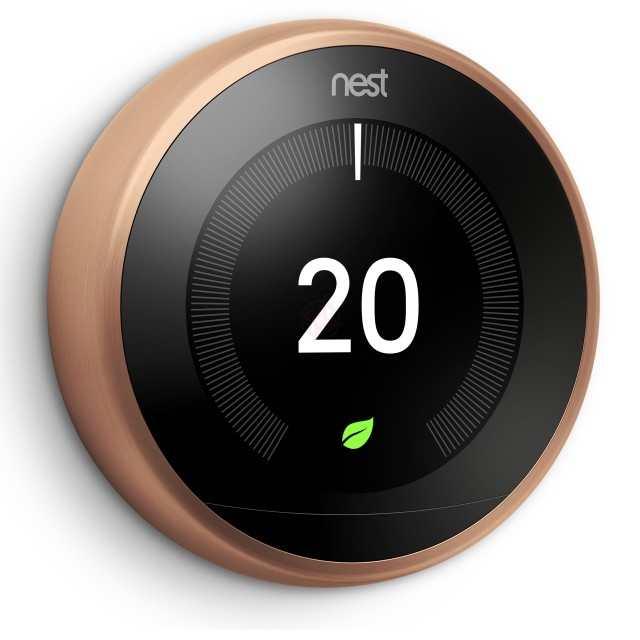 Nest Learning Thermostat, 3rd Generation - Copper
