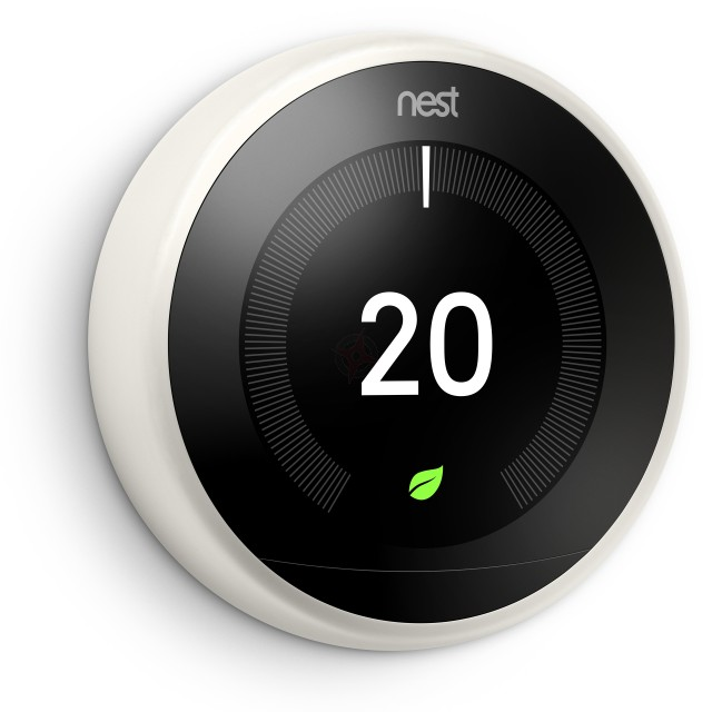 Nest Learning Thermostat, 3rd Generation - White