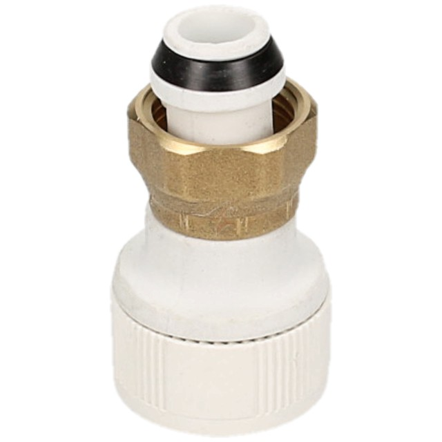 Whitespeed Push Fit 15mm x 1/2 Tap Connector