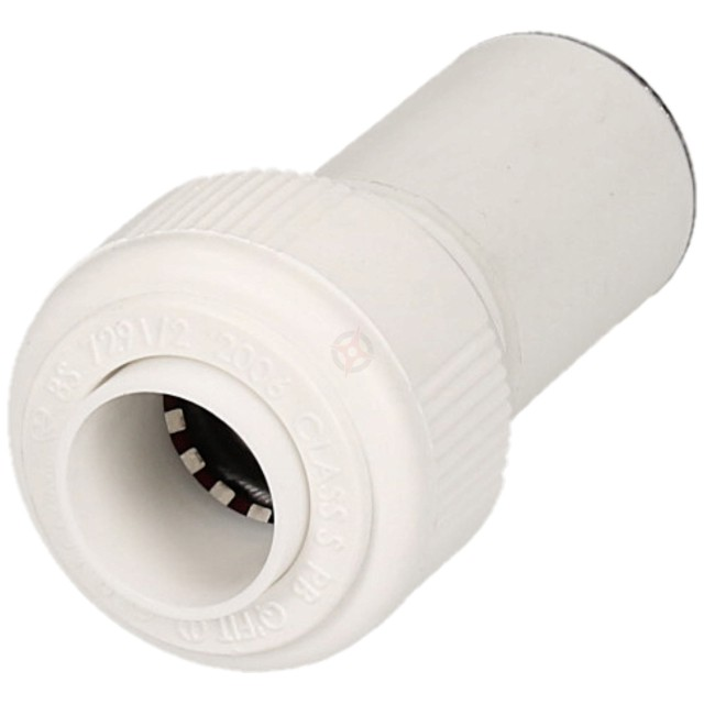 Whitespeed Push Fit 22mm x 15mm Spigot Reducer