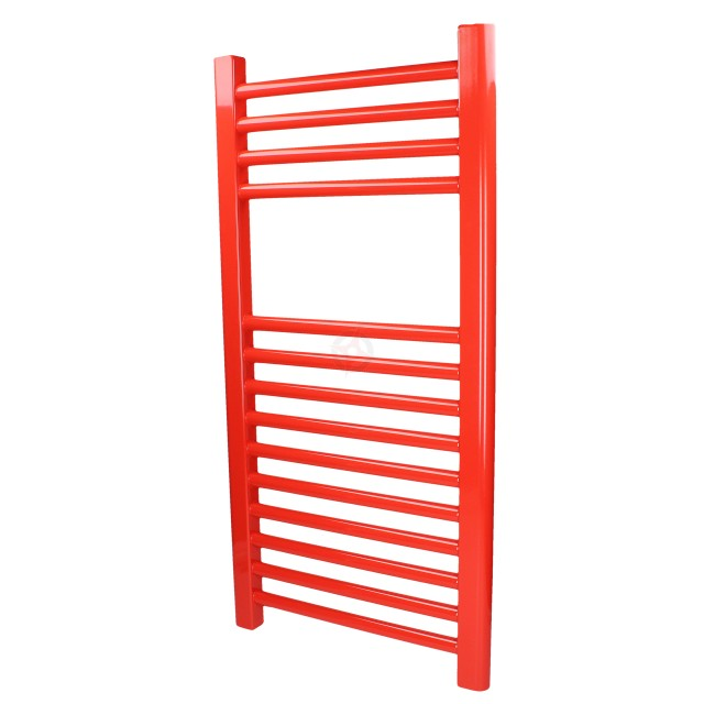 Straight Traffic Red, 800h x 400w Towel Warmer