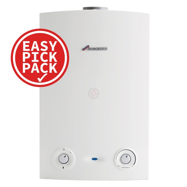 Worcester Greenstar 15Ri Compact (ErP) Regular Boiler Easy Pick Pack