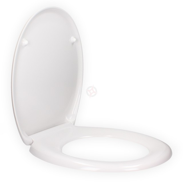 Sitere Soft Close White Toilet Seat