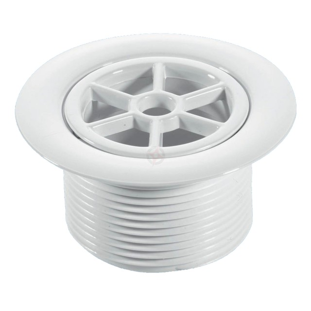 McAlpine 40mm White Plastic Waste with 70mm Flange STW70WH